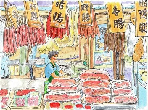 台北の肉屋 2009年9月