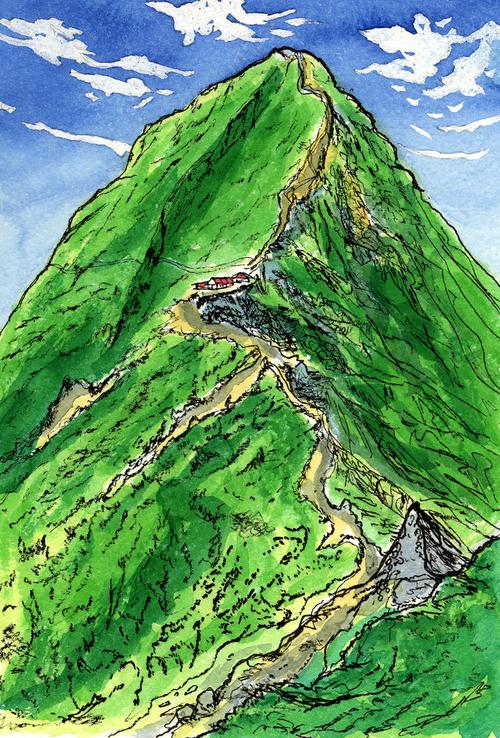 赤岳 2006年 夏