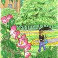 バラの咲く公園