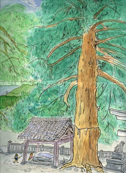 椙 松川・大州七椙神社 9月
